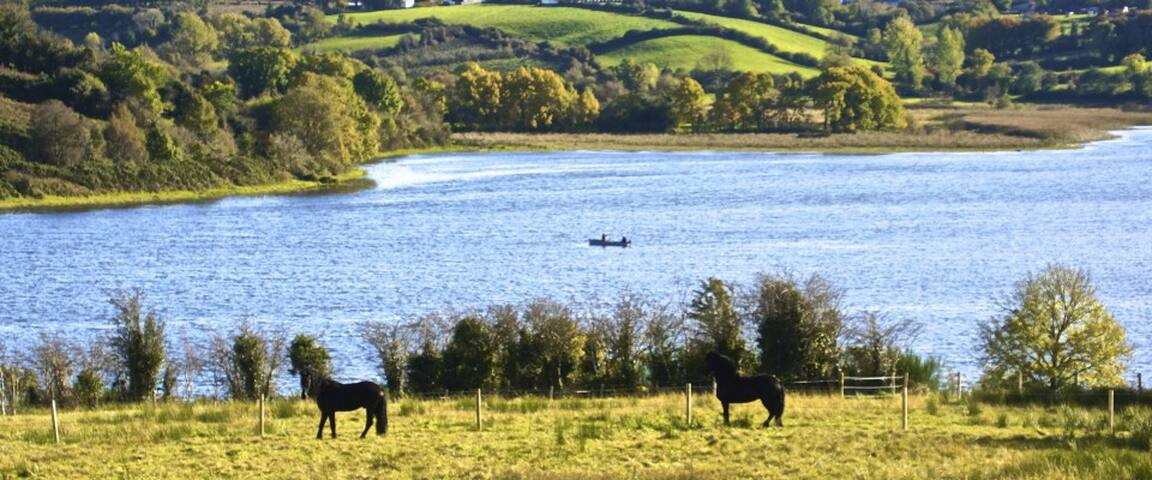 Lakeside Paradise - Lakefront Farm in Ireland - Cavan - Daire