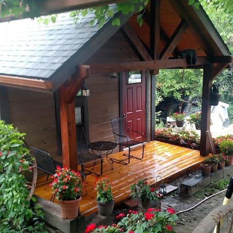 Christi's Hideaway Cabin in Winesburg, Ohio