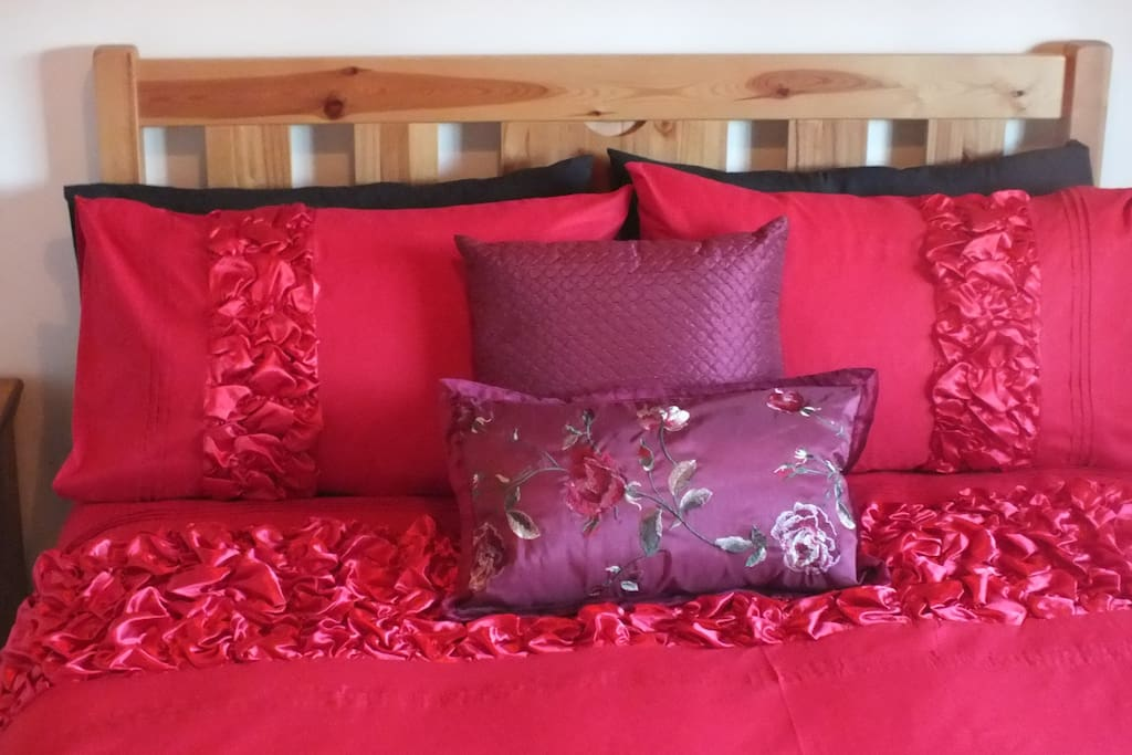 Luxury bed linen and towels