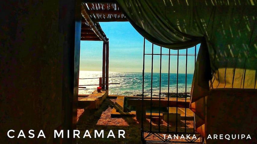 Casa MiraMar. Habitación matrimonial. Tanaca.