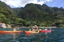 Kayak & SUP rentals are close.