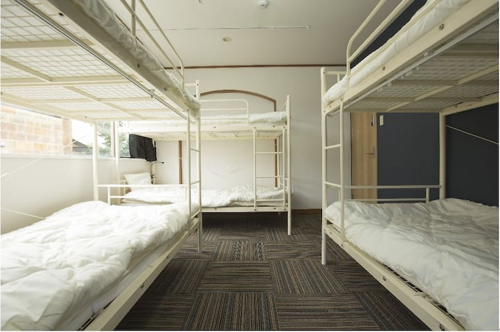 Bunk Bed in Mixed Dormitory Ro...