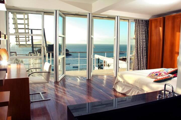 A casa Brigitte, aberto para o mar !!!
