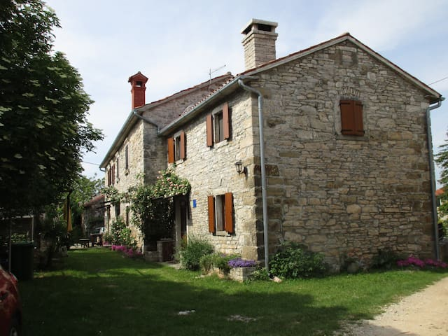 Cozy Istrian house with garden - Zrenj - Casa