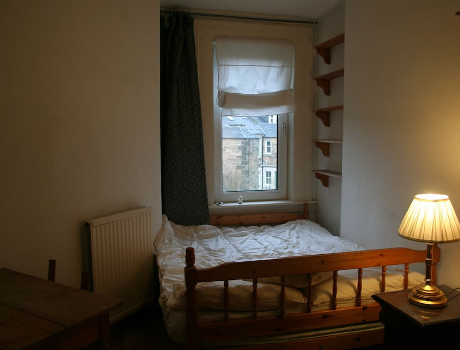 Bedroom no 2 with garden view
