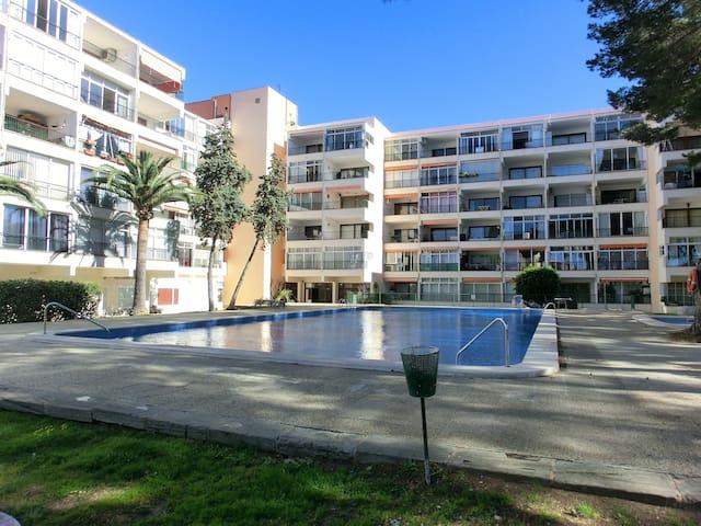 apartamento con un dormitorio en zona tranquila - Palmanova - Appartement