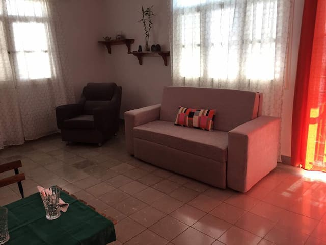 Spectacular, fresh and comfortable living room with all the amenities that will make you feel at home.