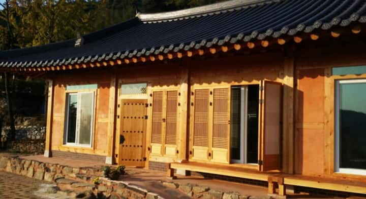 Grace garden in Korean traditional village