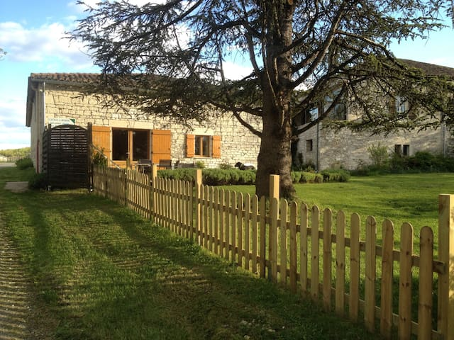 House / barn renovated Quercy nine - Montaigu-de-Quercy