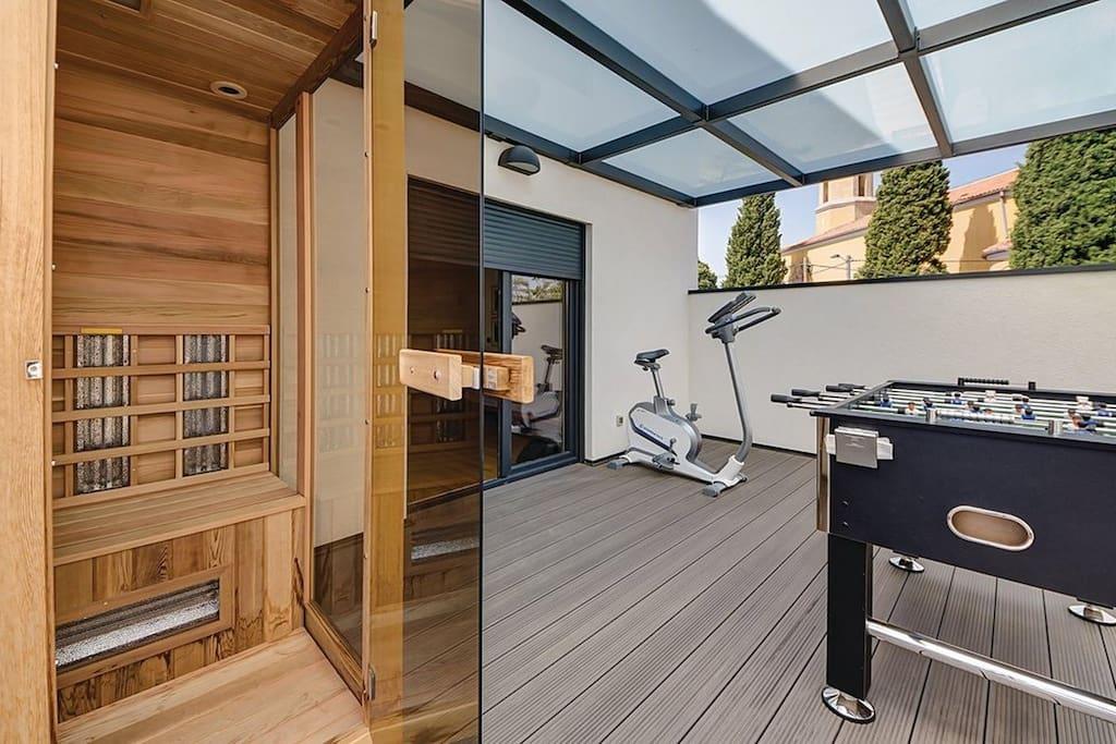 Sauna/fitness