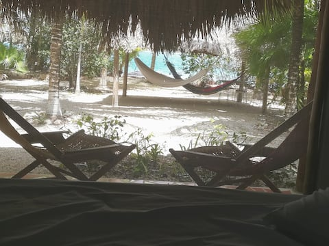 Bacalar Waterfront Bungalow with Deck 2