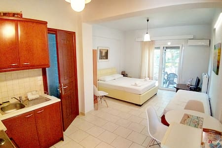 Studio apartment in Kirra, ancient port of Delphi