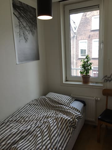 Small single room in the centre of Amsterdam