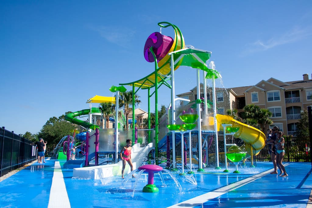 Resort's new water park - open Aug 2018