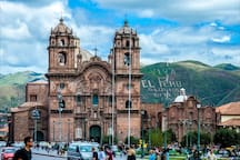 The famous Plaza de Armas is an easy 10 minute walk from our Cool & Cozy Guesthouse