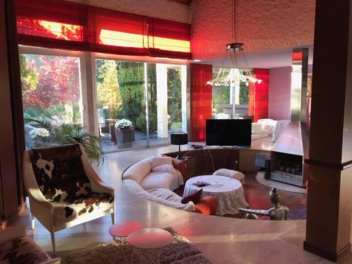 Chambre double en Villa (4)