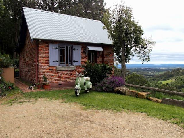 Idyllic cottage facade