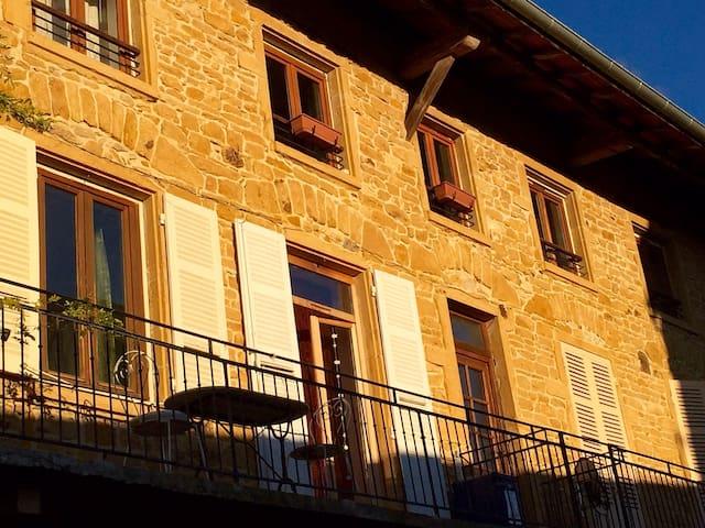 Au cœur des pierres dorees - Le Bois-d'Oingt - Apartament