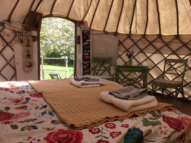 The Yurt & Tree House, Home Barn - Rudgwick - Yurt