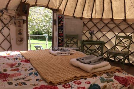 The Yurt & Tree House, Home Barn - Rudgwick - 유르트(Yurt)