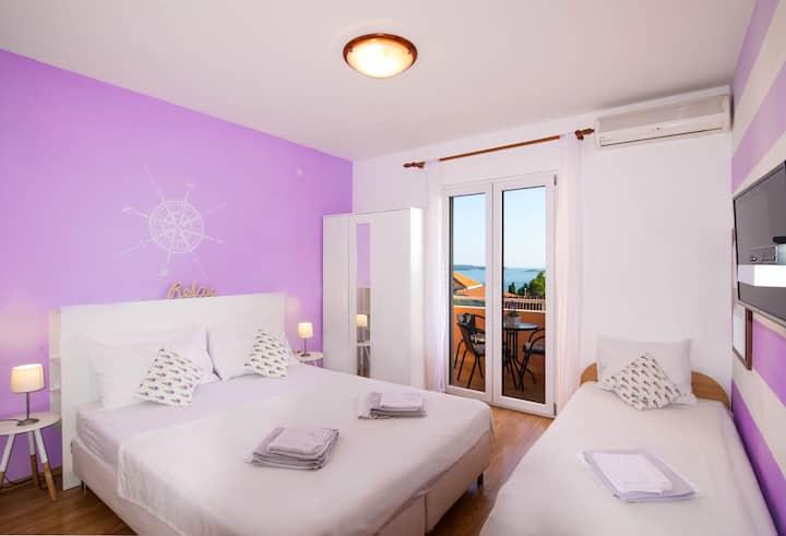 Apartments Erminia Luce - Balcony