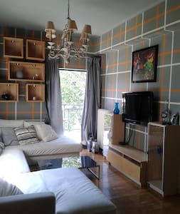 Comfy flat in Athens 1 min walk from train station - Marousi