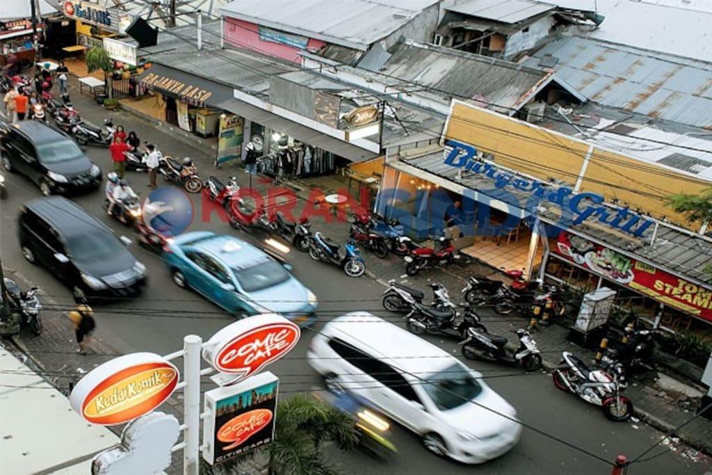 Main street area