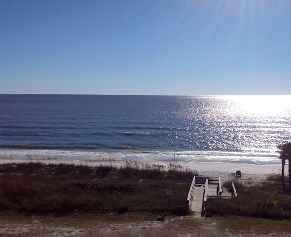 Huge 2 BR with perfect ocean view! - Mexico Beach