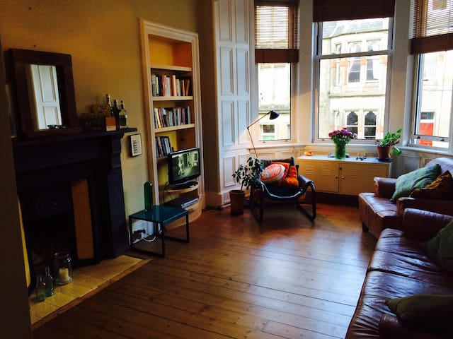 Edinburgh by Sea -Spacious Room in Portobello Flat - Edinburgh - Byt