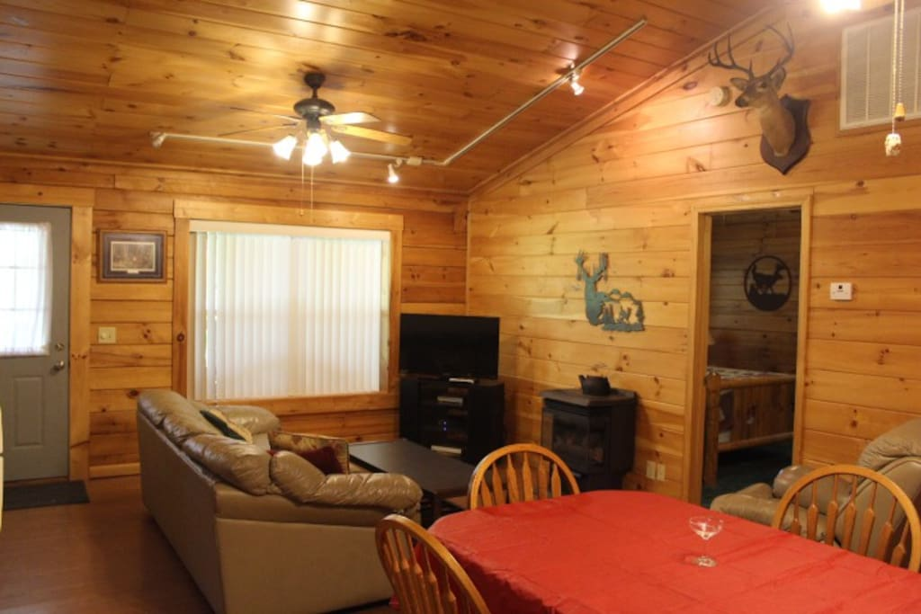 Cabin #8 - Living Room