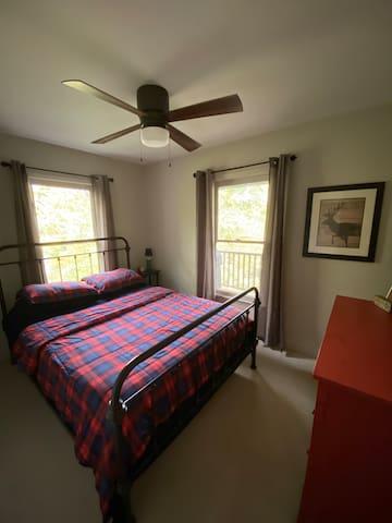 1st Downstairs queen bedroom