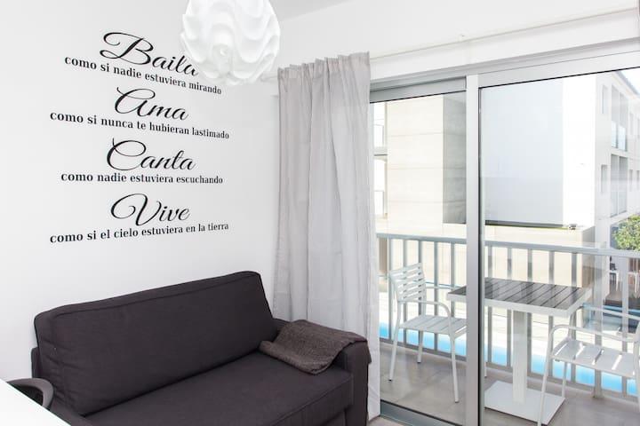 41k Corralejo Seaside Apartment with pool