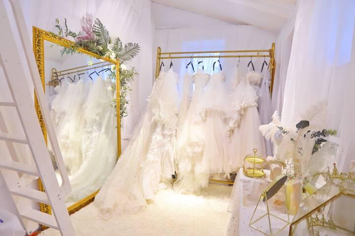 梦境【3】法式婚纱主题步行人民会堂地铁,海军博物馆对面百年徳式老建筑