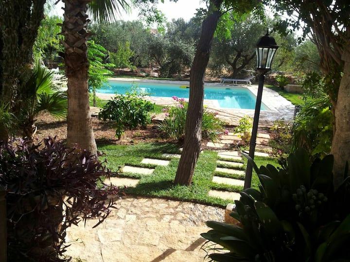 Villa Massa Polignano Mare piscina relax nel verde