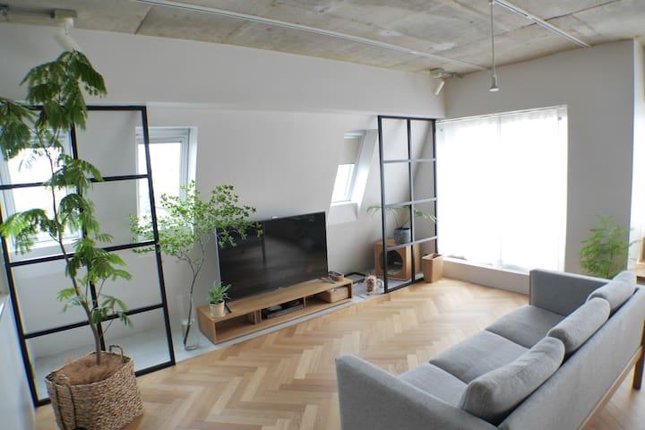 Design Renovate Room Shibuya 8min - Setagaya-ku - Apartamento
