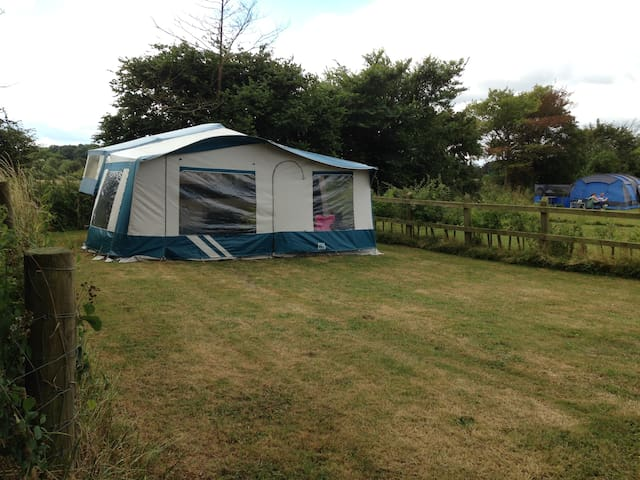 Canvas Cottage - The Croft Campsite