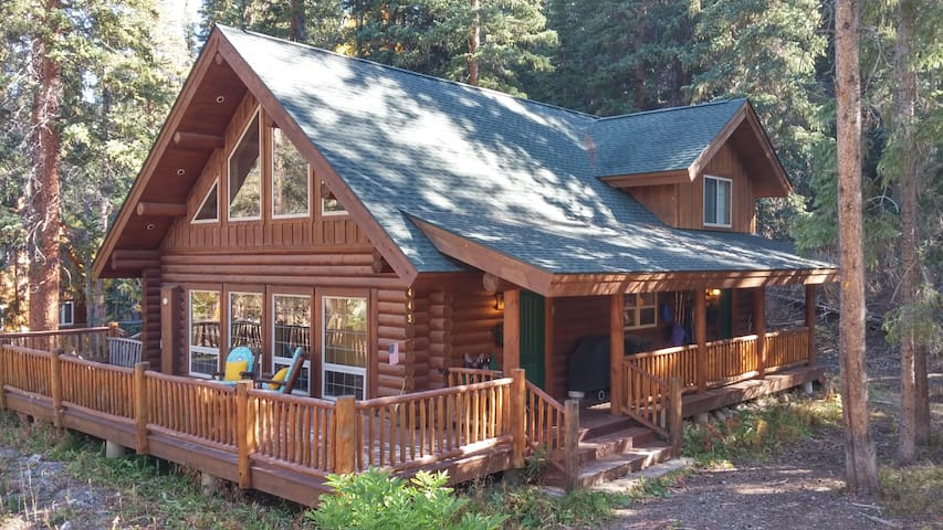 Custom Log Home 7 Minutes to Lifts - Blue River - Huis