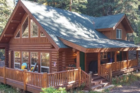 Custom Log Home 7 Minutes to Lifts - Blue River - Talo