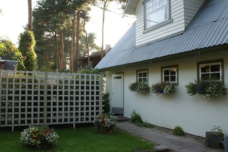 Cosy rooftop apartment with private garden - Tallinn