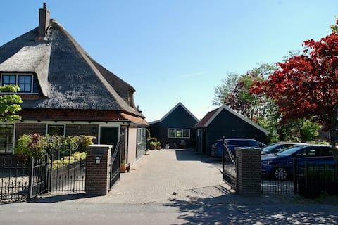 Lovely rustic house in typical Dutch area