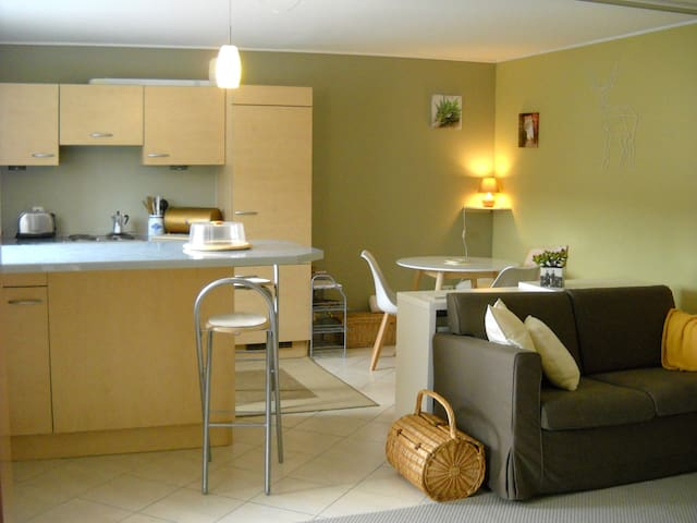 Flat at the ground floor-15mn from Luxembourg city