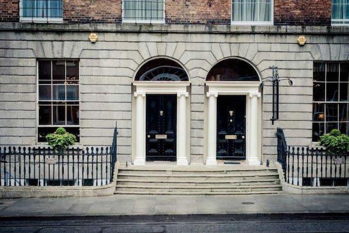 Dublin City Centre Georgian Townhouse Twin Room