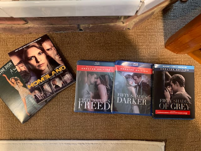 Awesome set of DVDs for date/movie nights