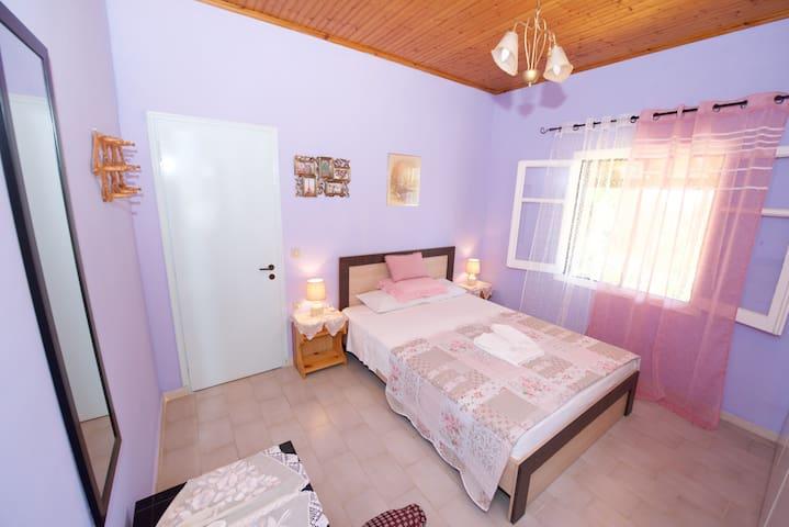 Nikolas House Afionas Corfu Bedroom