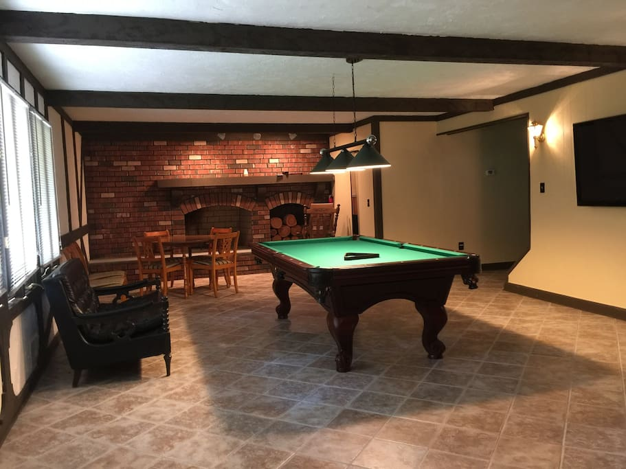 First floor game room