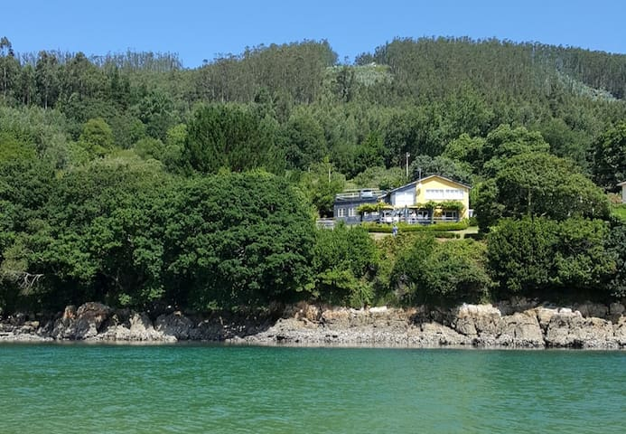 Casa desde el mar (house from the sea)