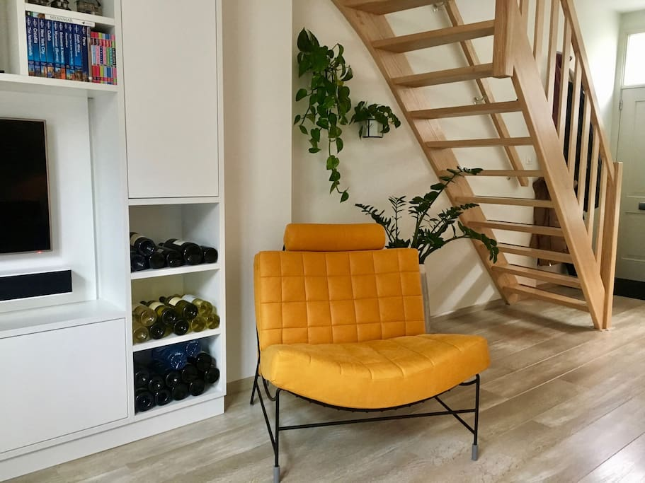Relaxing Chair, oh yes, with some wine ;)