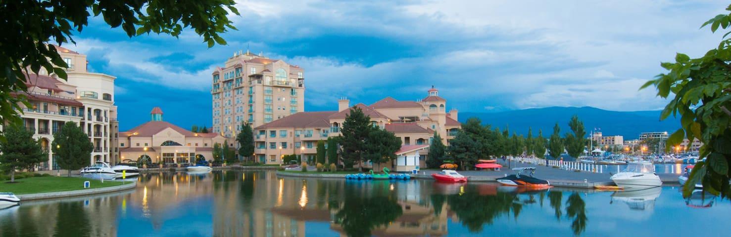 Delta Grand Okanagen Resort Timeshare Jul 30-Aug6 - Kelowna - Apartament