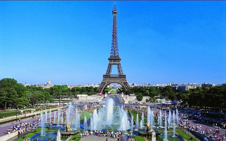 Eiffel Tower - Trocadero Parisian flat - 4people