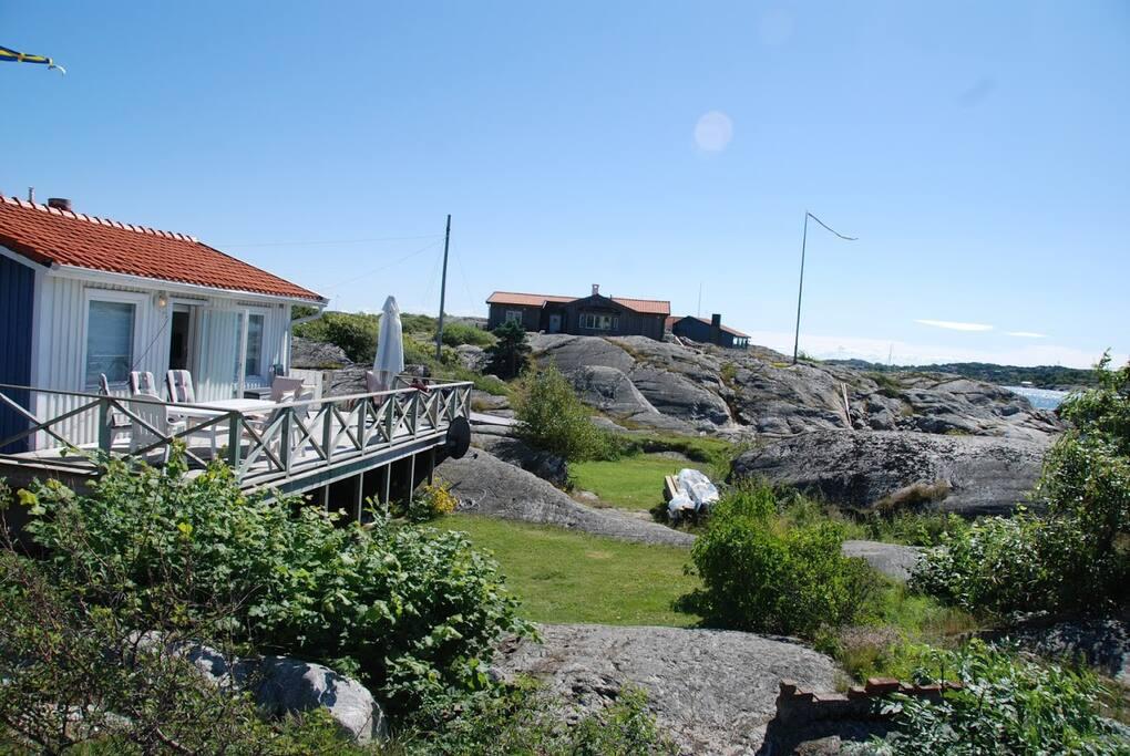 Terrace of main house